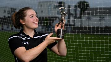 Camogie player of the month award for Offaly dual star