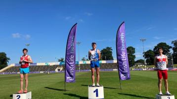 National U-23 and junior medals for Offaly athletes