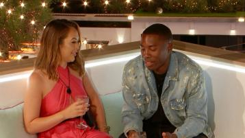 LOVE ISLAND TONIGHT: Sharon and Aaron get lippy as three couples make moves