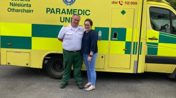 Tributes paid as Offaly paramedic works last day with ambulance service