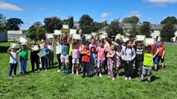 Offaly children love 'games on the green' initiative