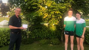 Presentation made to Offaly sisters named on Irish basketball squad