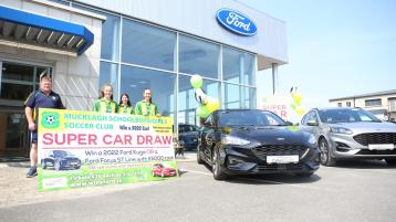 You could 'win a Ford' car in Offaly club's unbelievable raffle