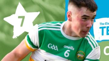 Rising Offaly star named on Minor Football Team of the Year