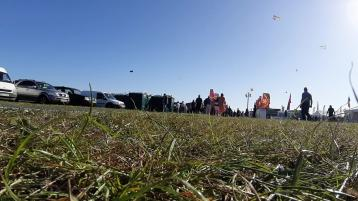 WATCH| Another beautiful sunny day as crowds gather in Carlow