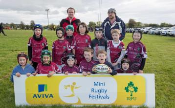 Portarlington RFC participate in Aviva's Leinster Mini Rugby Festival