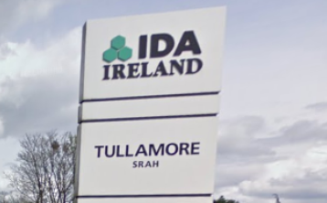Offaly near the bottom of the table in terms of IDA jobs