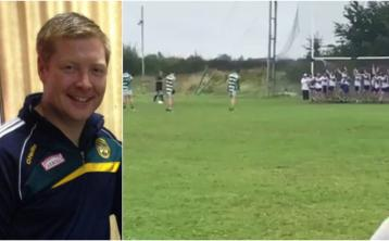 Offaly goalkeeper takes impossible last minute free to salvage draw for club