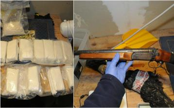 €1 million worth of drugs seized in Offaly village