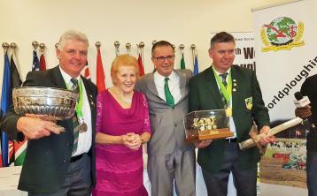Irish team take top honours at World Ploughing Championships