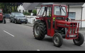 Tractor Run for Dochas to hit Tullamore today