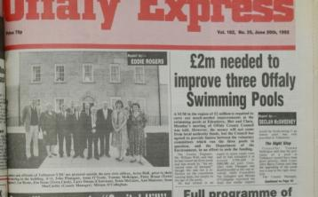 PAGES FROM THE PAST: Check out the news as it happened in Offaly 26 years ago