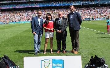 Offaly GAA club picks up award in Croke Park