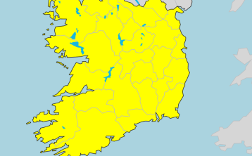 Met Eireann weather forecast for the rest of the weekend