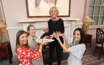 Offaly star bakers meet Mary Berry after competition success