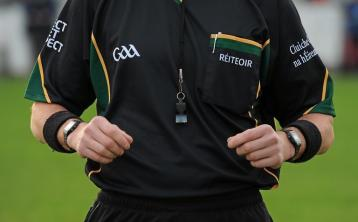 Offaly GAA looking to recruit new referees
