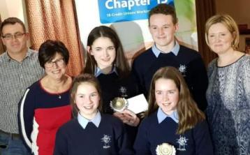 Perpetual Cup and quiz win for Killina students