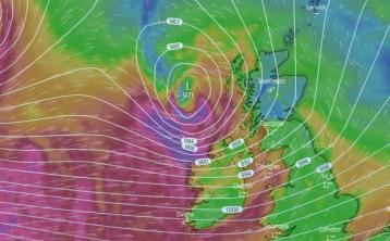 Met Eireann upgrades Weather Warning to Orange for some areas for tonight
