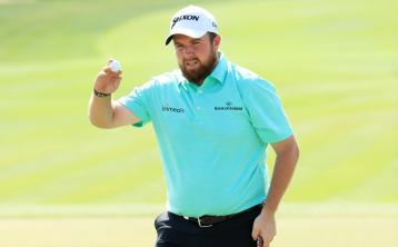 Shane Lowry on fire in opening round of the year in Abu Dhabi