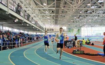 Offaly athlete becomes fastest European this season at indoor championships