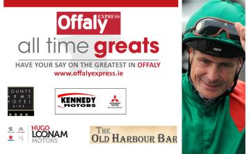 Pat Smullen named Offaly's All Time Great winner following final vote