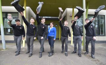 Offaly school planning welly throwing world record attempt