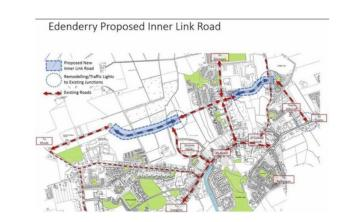 Edenderry inner relief road given go ahead by councillors
