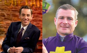 Champion Offaly jockey Pat Smullen among the guests on tonight's Late Late Show
