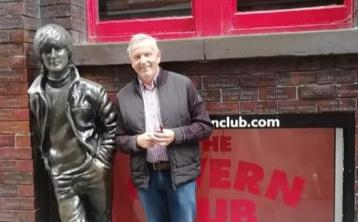 Offaly crooner performs at the home of the Beatles in Liverpool
