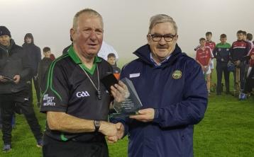 Popular Offaly referee honoured for incredibly long service