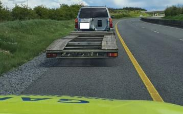 Disqualified motorist arrested after being stopped on motorway