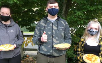 Offaly students host 'organic apple pie sale' as part of Green school initiative