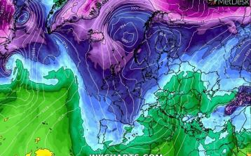 Very cold Arctic air in weather forecast for Ireland for coming  week