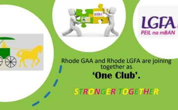 "Rhode GAA and Ladies Football join under ""one club"" initiative"