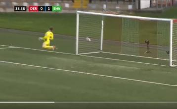 Watch: Wonder goal from half-way line in League of Ireland