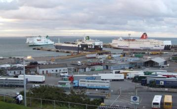 16 people found in truck on ferry bound for Rosslare