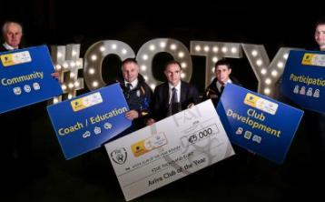 Offaly clubs urged to enter Aviva Club of the Year Awards