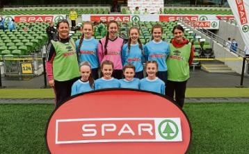 Offaly students impress at SPAR FAI Primary School 5s National Finals