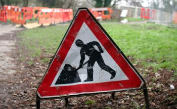 Offaly roadworks to cause disruption today