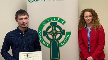 GALLERY: Offaly school recognises tremendous achievements of students at Academic Awards