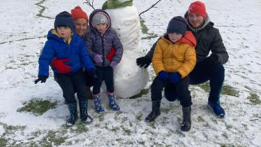 GALLERY: Readers pictures from out and about in a winter wonderland in Offaly