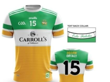 buy online 0ec43 59121 Offaly's new GAA jersey is an absolute work of art - Offaly ...