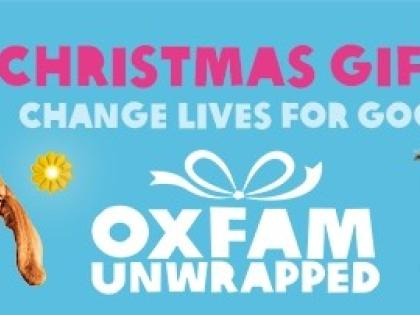 help those less fortunate with Oxfam