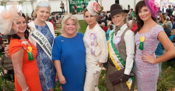 Tullamore show best dressed lady rds