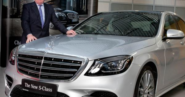 New mercedes s class arrives at offaly dealership offaly for Mike schmitz mercedes benz dealership