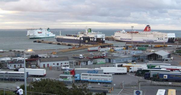 16 people found in truck on ferry bound for rosslare - Rosslare ferry port arrivals ...