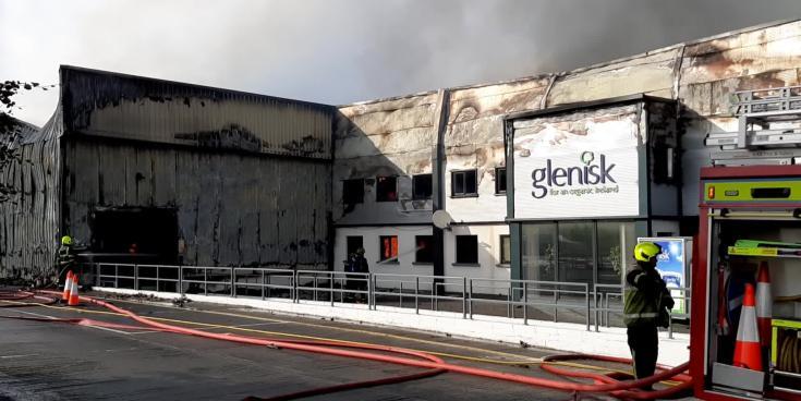 WATCH: Firefighters continue battling Glenisk blaze