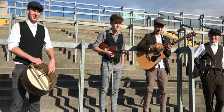 Tullamore students to broadcast Bloody Sunday 1920 on Young Wolfe Tones live this Friday