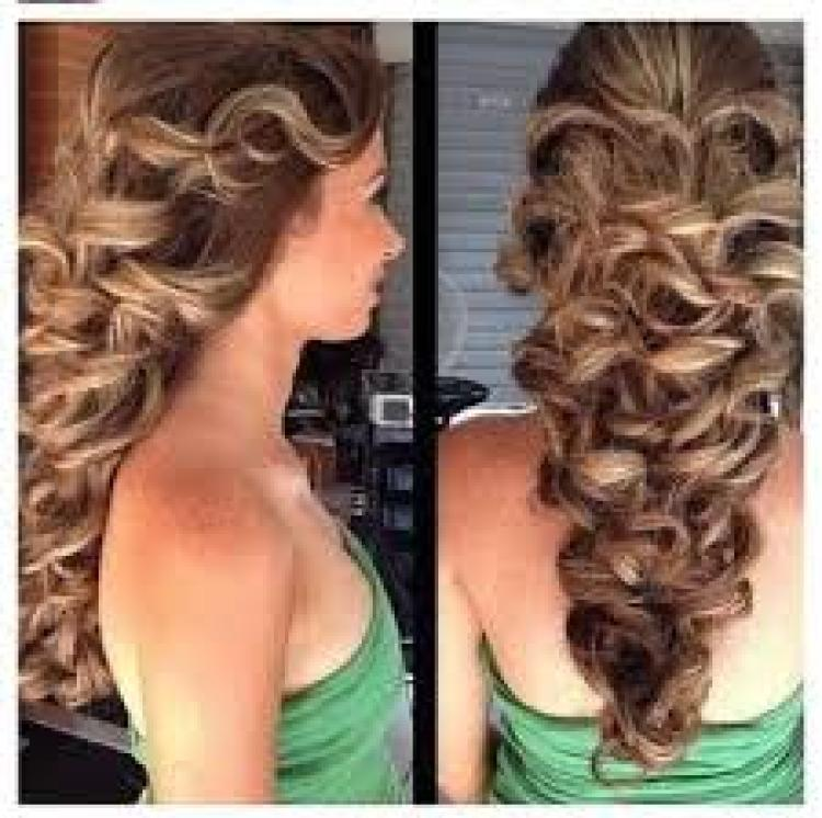 Beauty Five Special Occasion Hairstyle Ideas Photo 1 Of 5