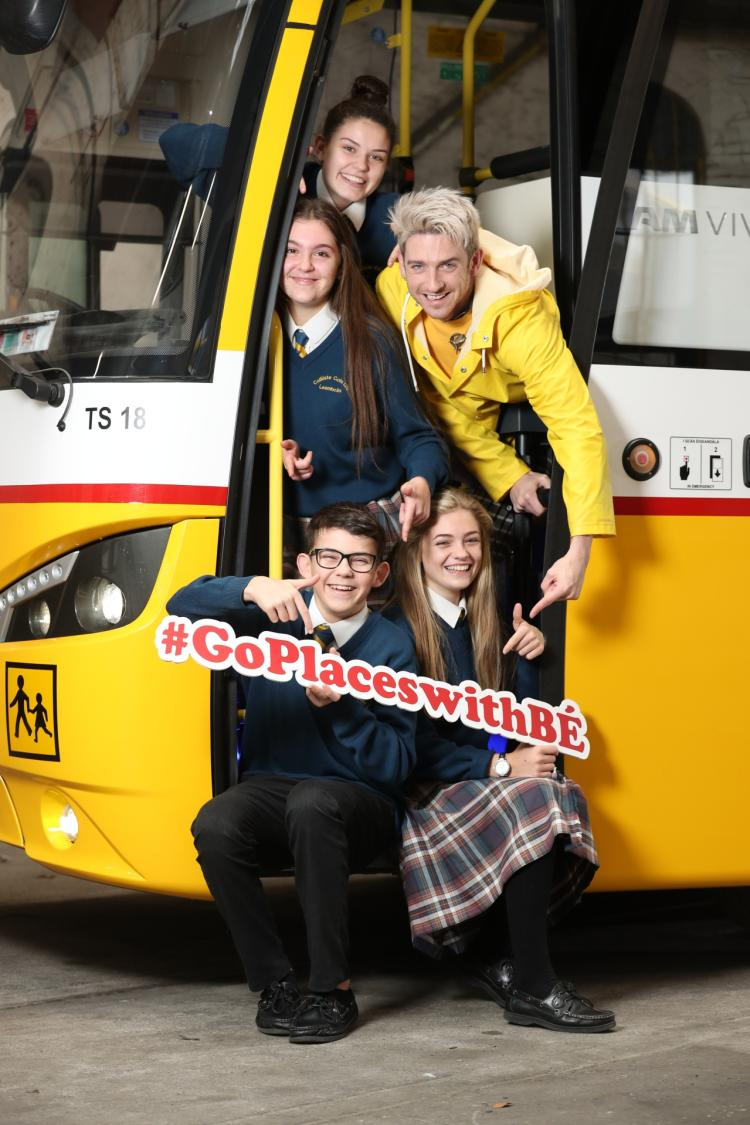 Offaly students urged to use creativity in Bus Éireann's 'Go Places